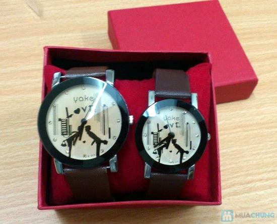 Đồng hồ đôi thời trang, cá tính - Món quà tuyệt vời cho tình yêu của bạn - Chỉ với 140.000đ/2 chiếc - 4