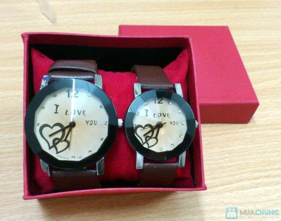 Đồng hồ đôi thời trang, cá tính - Món quà tuyệt vời cho tình yêu của bạn - Chỉ với 140.000đ/2 chiếc - 2