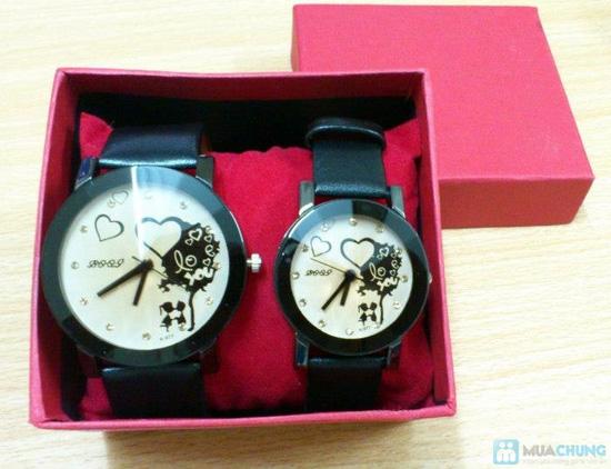 Đồng hồ đôi thời trang, cá tính - Món quà tuyệt vời cho tình yêu của bạn - Chỉ với 140.000đ/2 chiếc - 14