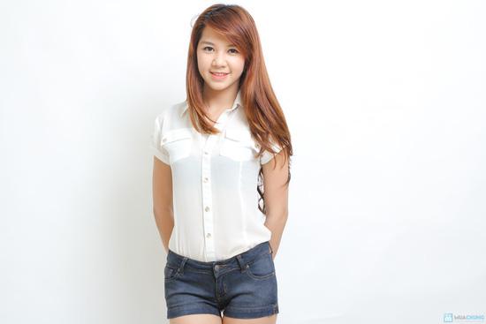 Quần Short Jean hàng Việt Nam xuất khẩu - 1