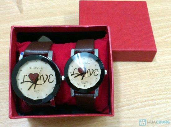 Đồng hồ đôi thời trang, cá tính - Món quà tuyệt vời cho tình yêu của bạn - Chỉ với 140.000đ/2 chiếc - 11