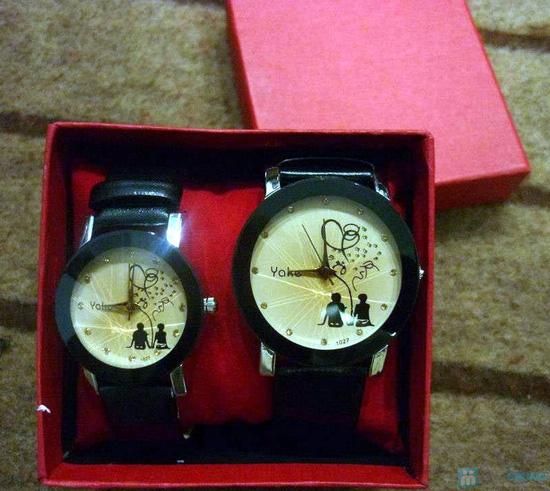 Đồng hồ đôi thời trang, cá tính - Món quà tuyệt vời cho tình yêu của bạn - Chỉ với 140.000đ/2 chiếc - 5