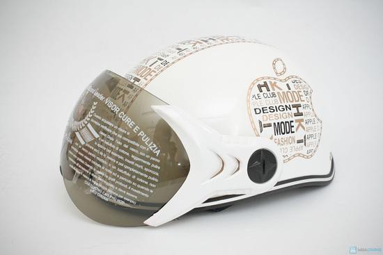 mũ bảo hiềm có kính cho người lớn hiệu HKT - 5