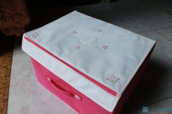 Combo 2 hộp đựng đồ phong cách vintage - 2