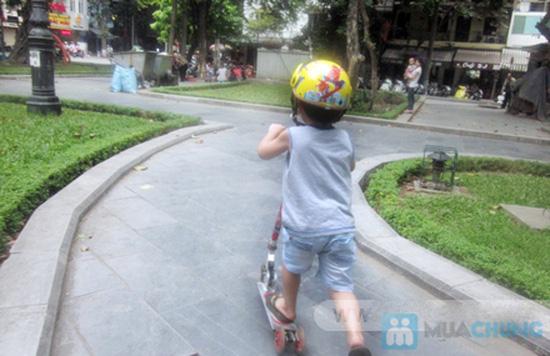 Mũ bảo hiểm trẻ em có kính chuẩn CR - 9