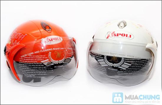 Mũ bảo hiểm trẻ em có kính chuẩn CR - 14