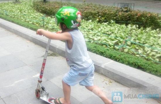 Mũ bảo hiểm trẻ em có kính chuẩn CR - 13