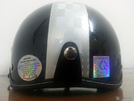 An toàn và thời trang khi lưu thông trên đường bằng xe máy với mũ bảo hiểm có kính chuẩn CR- chỉ 150.000đ - 4