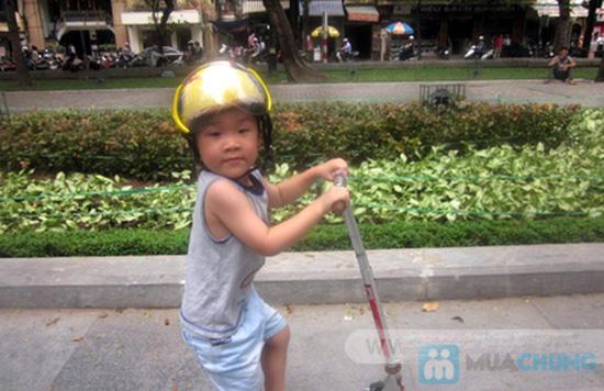 Mũ bảo hiểm trẻ em có kính chuẩn CR - 1