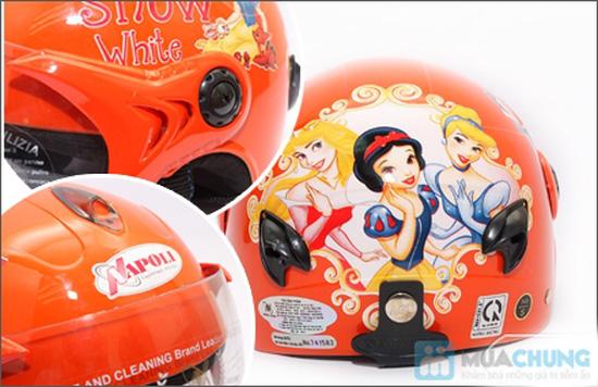 Mũ bảo hiểm trẻ em có kính chuẩn CR - 8