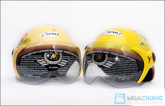 Mũ bảo hiểm trẻ em có kính chuẩn CR - 12