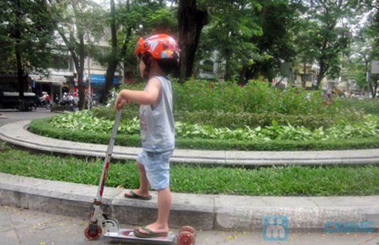 Mũ bảo hiểm trẻ em có kính chuẩn CR - 11