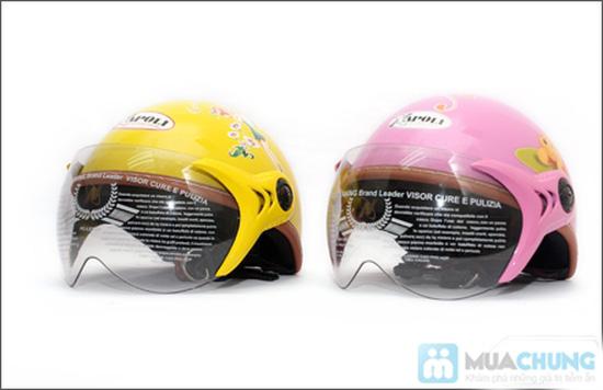 Mũ bảo hiểm trẻ em có kính chuẩn CR - 2