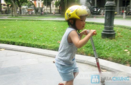 Mũ bảo hiểm trẻ em có kính chuẩn CR - 5
