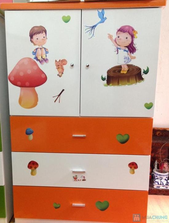 tủ trẻ em 80x40x120 - 1
