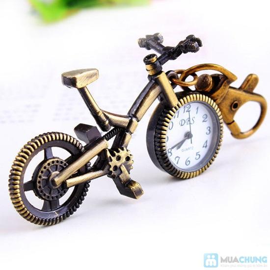 Móc khóa xe đạp có đồng hồ - 2