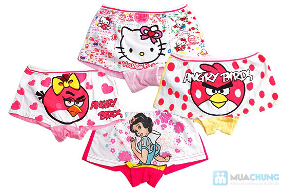 Combo 04 quần chip Short Disney cho bé gái - Chỉ 90.000/ 4 cái - 1