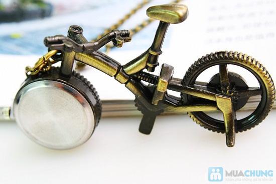Móc khóa xe đạp có đồng hồ - 7
