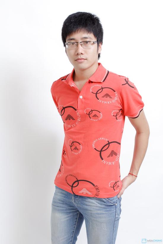 Áo phông hình có cổ - 5