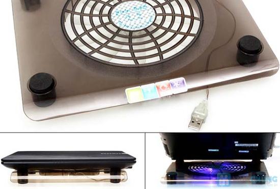 Đế tản nhiệt NC10 - tản nhiệt và tăng cường độ bền cho Laptop - 5