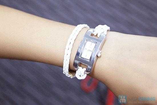 Đồng hồ dây da bính 2 vòng, kiểu dáng độc đáo - Chỉ 105.000đ/ 1 chiếc - 5