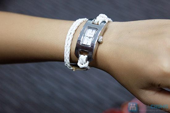 Đồng hồ dây da bính 2 vòng, kiểu dáng độc đáo - Chỉ 105.000đ/ 1 chiếc - 1
