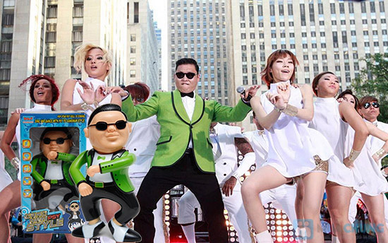 Búp Bê Gangnam Style - Nhảy và phát nhạc - 6