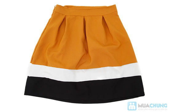 Chân váy xòe phối màu, kiểu dáng dễ thương - Chỉ 75.000đ/ 1 cái - 7