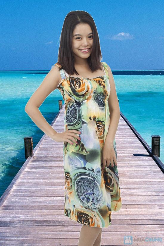 Đầm Maxi hoa dài mát mẻ cho mùa hè - Chỉ 75.000đ - 2