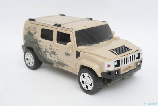 Đồ chơi lắp hình Robot, xe Hummer biến dạng chiến binh