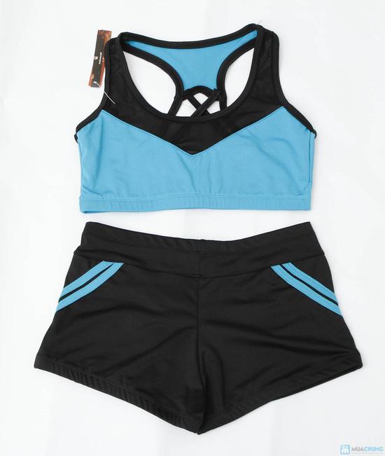 Bộ quần áo tập Aerobic - 4