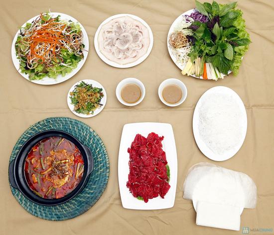 Thưởng thức món Cuốn, Lẩu riêu tại Nhà hàng Chez Mai - 1