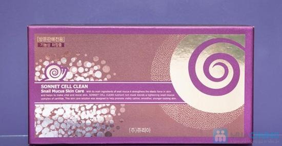 Bộ mỹ phẩm dưỡng da ốc sên Sonnet của Hàn Quốc - Chỉ 1.700.000đ/bộ - 8