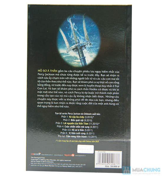 Bộ sách của tác giả Rick Riordan ( 3 cuốn) - 9