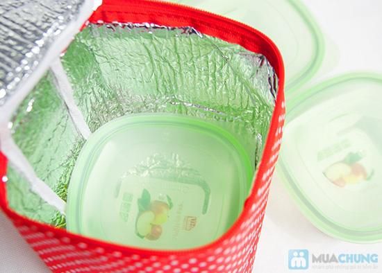 Bộ 3 hộp thuỷ tinh Glass và túi giữ nhiệt - 5