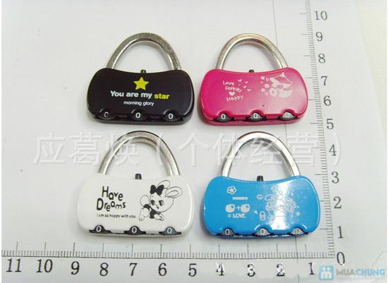 Combo 02 khóa số dành cho valy / túi xách - 3
