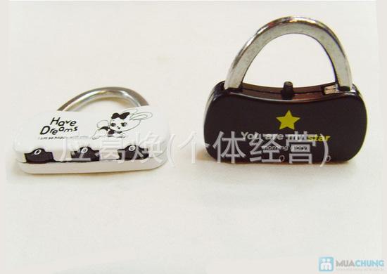 Combo 02 khóa số dành cho valy / túi xách - 2