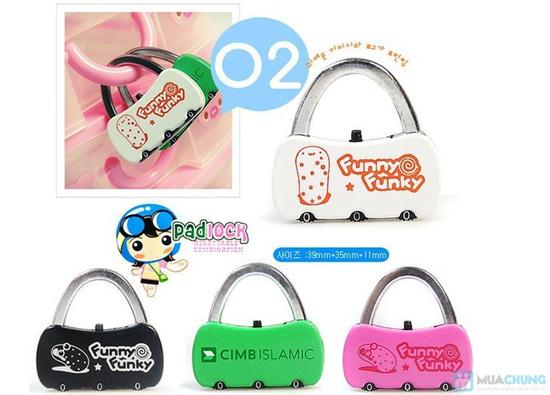 Combo 02 khóa số dành cho valy / túi xách - 1