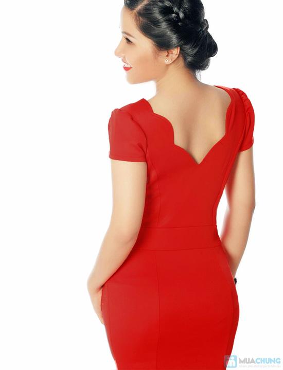 Váy kiểu cổ điệu đà cao cấp cá tính - 10