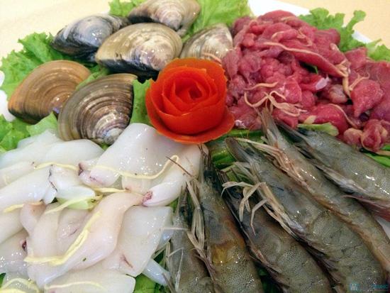 Set ăn Cá ngừ + Lẩu hải sản thơm ngon bổ dưỡng tại NH Hội Quán - chỉ 297.000đ - 8