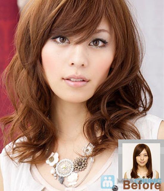 Dịch vụ uốn/duỗi/nhuộm +hấp dầu - cho mái tóc cá tính và sành điệu tại salon Lê Nguyễn - Chỉ 270.000đ - 2
