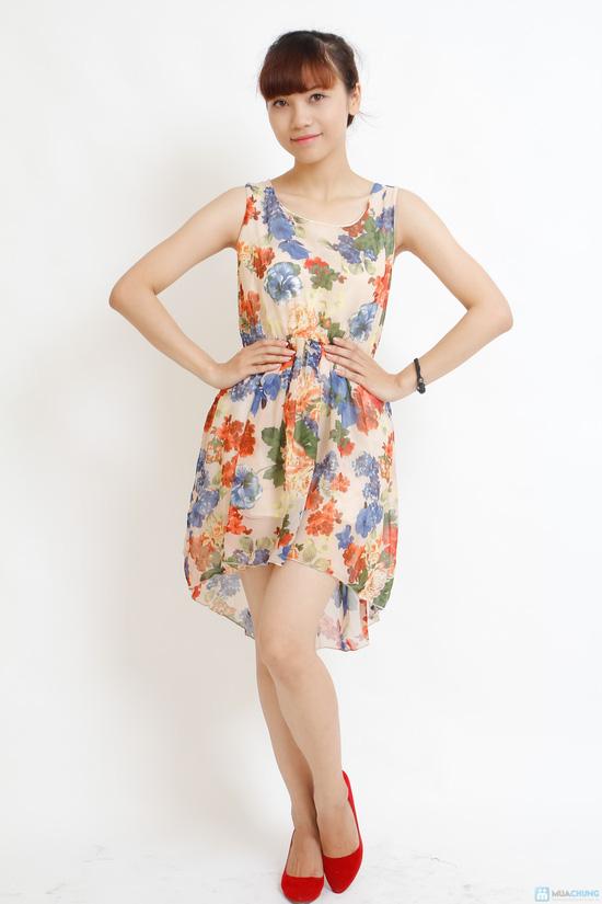 Váy voan hoa mullet - 3
