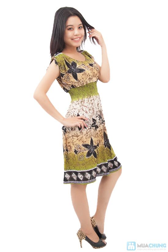 Váy thun lanh cánh dơi - 4