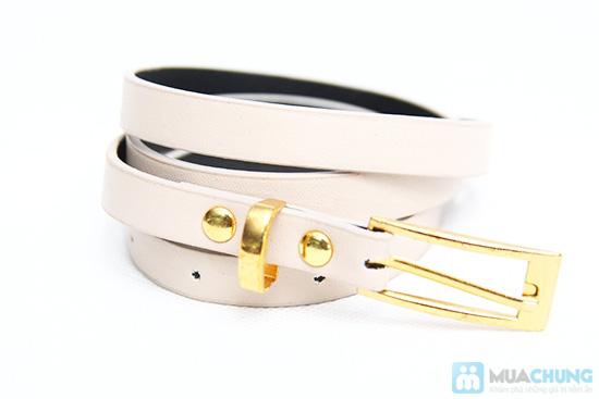 Combo 5 dây nịt bản nhỏ cho nữ - 4