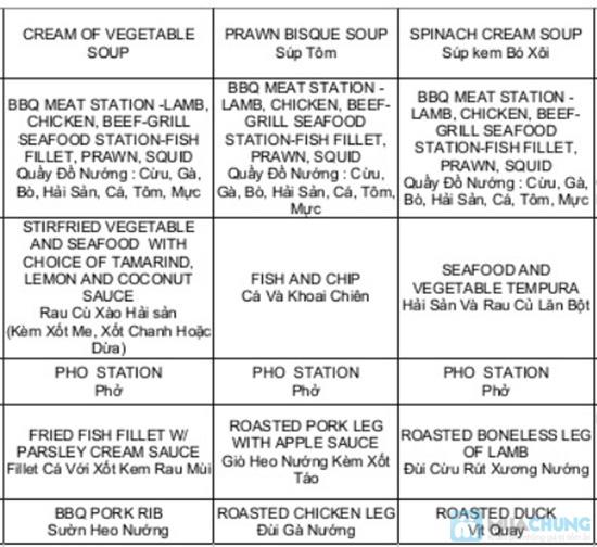 Buffet tối hải sản tại nhà hàng La Mezzanine - Chỉ 401.000đ/ 01 người - 3
