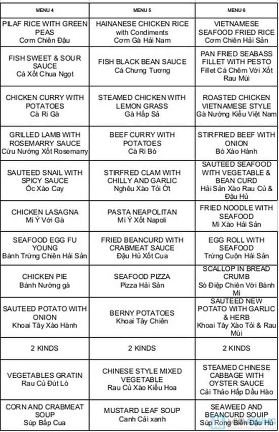 Buffet tối hải sản tại nhà hàng La Mezzanine - Chỉ 401.000đ/ 01 người - 2