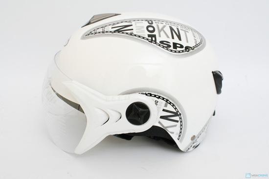 An toàn cùng Mũ bảo hiểm có kính cho người lớn - 1