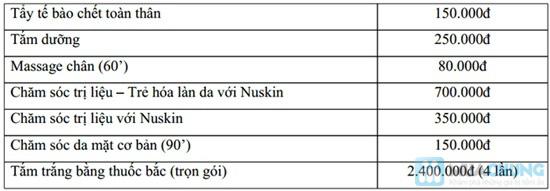 Chăm sóc da mặt chuyên sâu với Collagen hoặc mỹ phẩm Nuskin (90 phút) tại King Nu Spa - Chỉ 125.000đ - 10