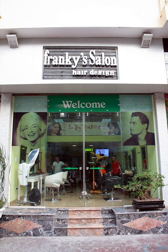 Voucher sử dụng dịch vụ làm tóc tại Salon Franky - Chỉ 70.000đ - 16
