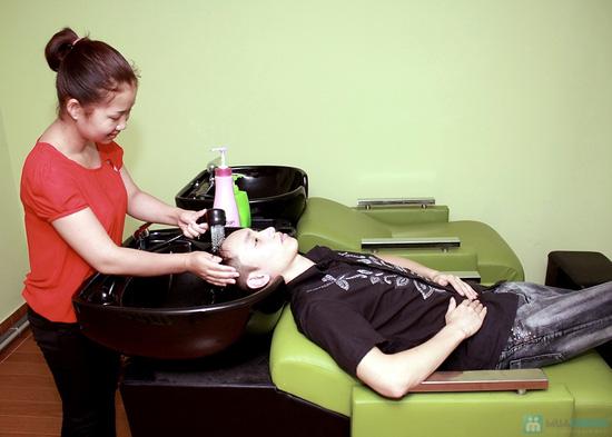 Voucher sử dụng dịch vụ làm tóc tại Salon Franky - Chỉ 70.000đ - 2